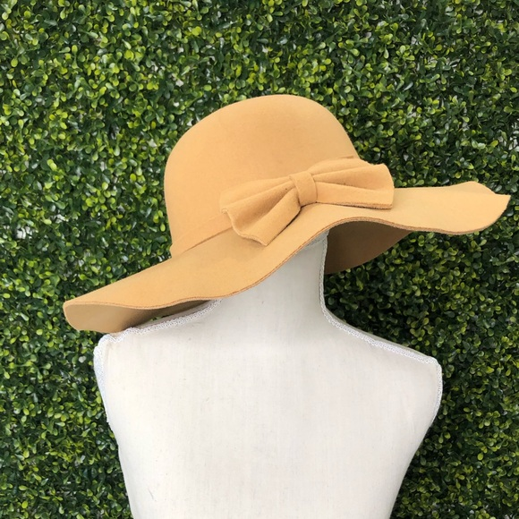 a2329aee591ae5 little anchor boutique Accessories | Tan Floppy Hat | Poshmark